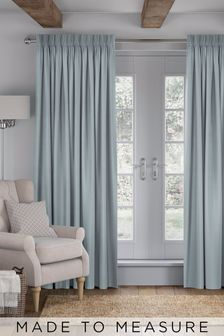 Imogen Spa Blue Made To Measure Curtains