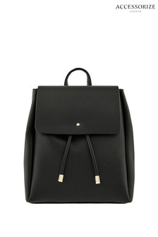 Accessorize Black Katie Backpack