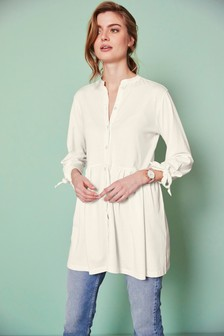 Long Sleeve Tie Tunic
