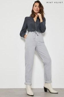 Mint Velvet Paperbag Waist Jeans