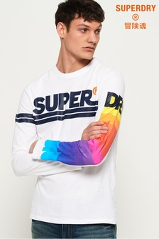 Superdry Spectrum Mid Weight Long Sleeve T-Shirt