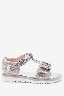 Baker by Ted Baker Snake Print Sandals