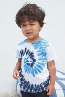 Short Sleeve Tie Dye T-Shirt (3mths-7yrs)