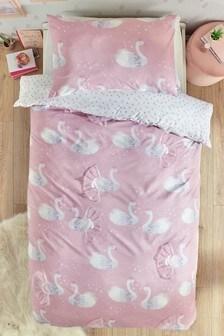 Obliečka na vankúš a perinu s labutím vzorom Princess Swans
