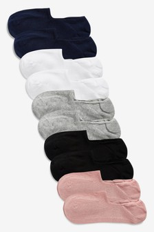 Invisible Trainer Socks Ten Pack