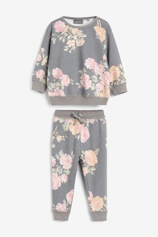 Vintage Floral Sweater And Joggers Set (3mths-7yrs)