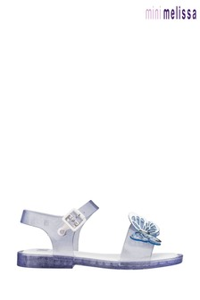 Mini Melissa Blue Mar Butterfly Sandals