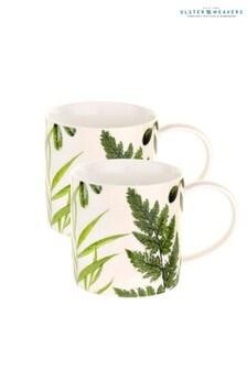 Set of 2 Ulster Weavers RHS Foliage Mugs