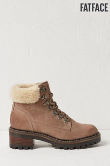 FatFace Natural Newbury Hiker Boots