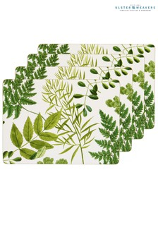 Set of 4 Ulster Weavers RHS Foliage Table Mats