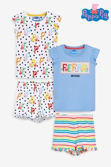 2 Pack Peppa Pig™ Short Pyjamas (9mths-8yrs)