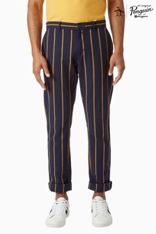 Original Penguin® Stripe Slim Fit Chino Style Trousers