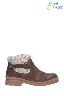 Fleet & Foster Brown Rummy Ankle Boots