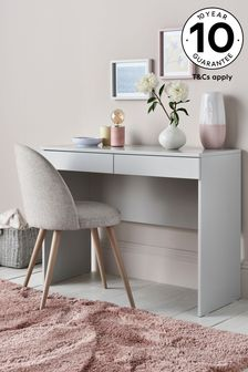 Flynn Grey Desk/Console Dressing Table