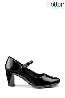 Hotter Jada Buckle Fastening Mary Jane Heeled Shoes