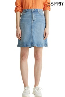 Esprit Blue Denim Skirt