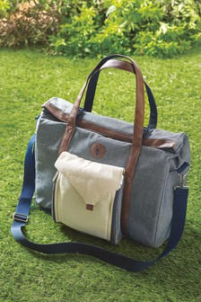 2 Person Filled Picnic Tote Bag
