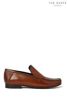 Ted Baker Tan Lassty Slip-On Shoes