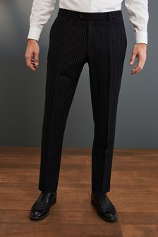 Signature Stripe Suit: Trousers