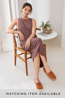 Soft Viscose Sleeveless Dress