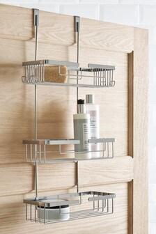 מתקן שלושה מדפים למקלחת