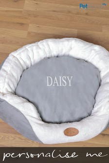 Personalised Luxury Small Dog Bed by Pet Brands