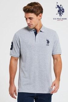 Рубашка поло с двумя всадниками U.S. Polo Assn.