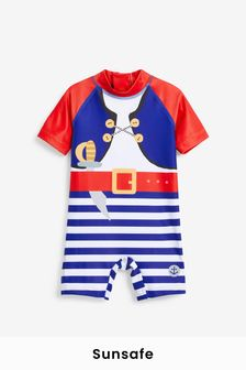 Pirate Sunsafe Suit (3mths-7yrs)