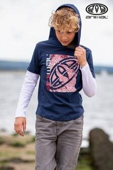 Animal Fargo Hooded Long Sleeve T-Shirt
