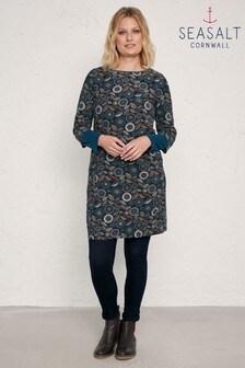 Seasalt Blue High Key Dress