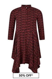 Stella McCartney Kids Girls Red All Is Love Dress