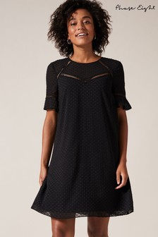Phase Eight Black Anjelica Swing Dress
