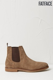 FatFace Natural Charles Suede Chelsea Boots