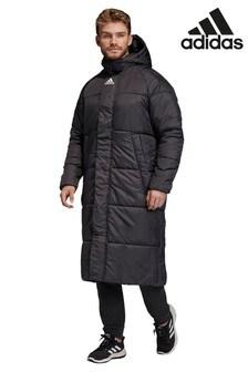 Черная куртка adidas Baffle