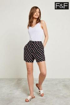F&F Multi Stripe Short