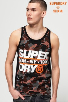 Superdry Trophy Camo Vest Top