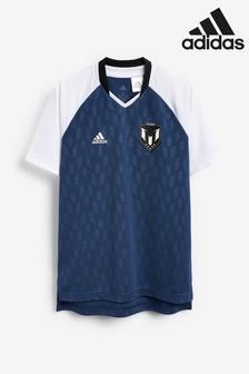 adidas Navy Messi Jersey