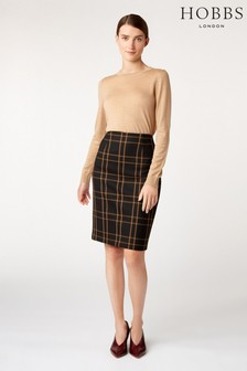 Hobbs Black Florina Skirt