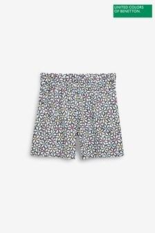 Benetton Floral Shorts