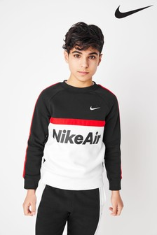 Nike Air Black/White Crew Sweater