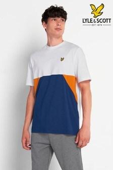 Lyle & Scott Plus Size Trio Geo Panel T-Shirt