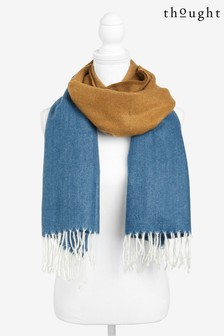 Thought Blue Linnear Scarf