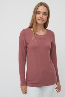 888ef4126ed Womens Pink Knitwear | Pink Cardigans & Sweaters | Next UK