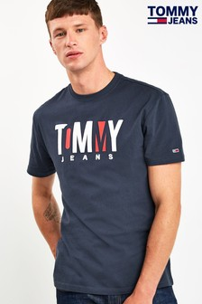Tommy Jeans Contrast Logo T-Shirt