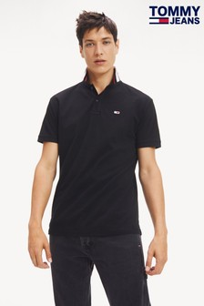 Tommy Jeans Classics Black Tipped Polo