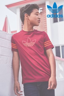 adidas Originals Burgundy SPRT T-Shirt
