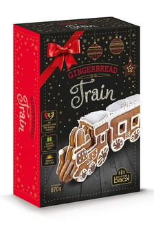 Make Your Own Gingerbread Train Kit