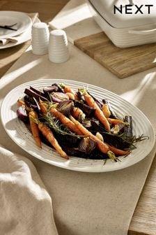 Malvern Embossed Platter