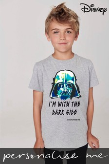 Personalised Disney™ Star Wars™ Dark Side T-Shirt