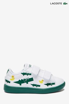 Lacoste® Infant Croc And Duck Carnaby Evo Trainers